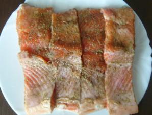 Красная рыба на пару - фото шаг 2