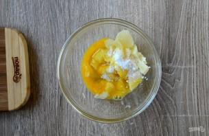 """Картофельная """"бомба"""" с сыром и беконом - фото шаг 5"""