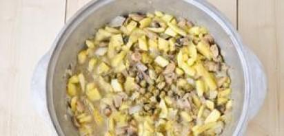 Лазанья с ветчиной и сыром - фото шаг 5