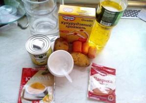 Суп-пюре кукурузный - фото шаг 1