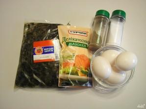 Салат из морской капусты с яйцом - фото шаг 1