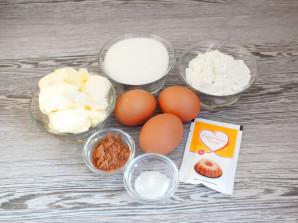 Мраморный кекс в хлебопечке - фото шаг 1