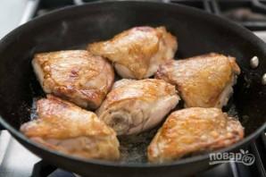 Куриные бедрышки с орзо - фото шаг 2