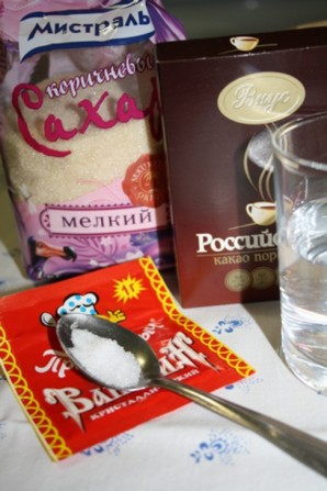 Сироп шоколадный - фото шаг 1