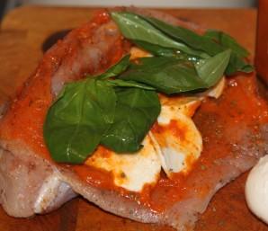 Индейка с сыром в духовке - фото шаг 1