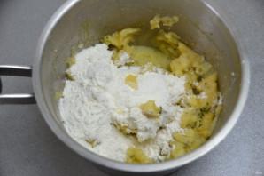 Хворост картофельный - фото шаг 5