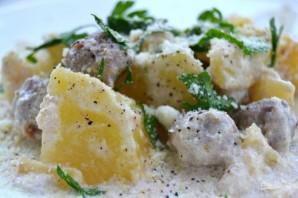 Картофель со сливочным соусом - фото шаг 8