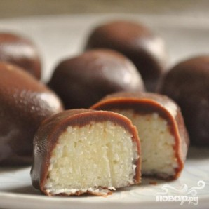 Шоколадно-кокосовые конфеты - фото шаг 4