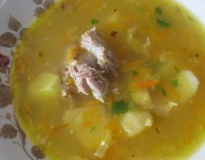 Гороховый суп с бараниной - фото шаг 4