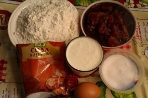Пирог с грушевым повидлом - фото шаг 1