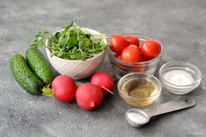 Салат с маринованной редиской - фото шаг 1