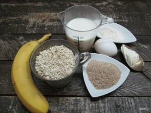 Бананово-овсяные ПП кексы  - фото шаг 1
