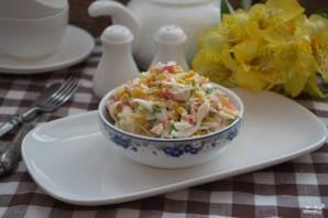 Салат из крабовых палочек без риса - фото шаг 6