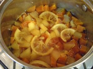 Варенье из тыквы с яблоком и лимоном - фото шаг 8