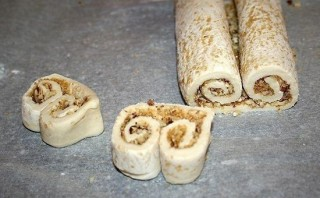 Печенье из слоеного теста - фото шаг 5