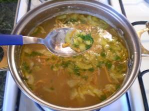 Гороховый суп на воде - фото шаг 10