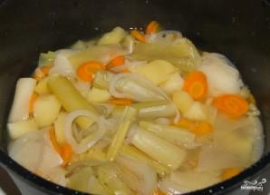 Картофельный суп для ребенка - фото шаг 1