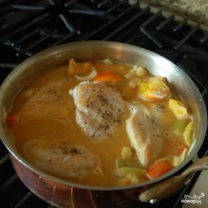 Курица с овощами в цитрусовом соусе - фото шаг 9