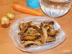 Бульон из сушеных грибов - фото шаг 1