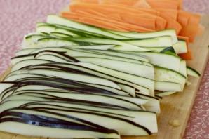 Пирог с морковкой и кабачком - фото шаг 2
