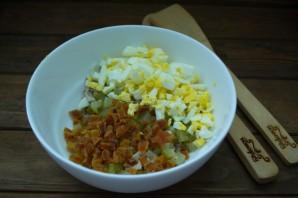 Салат с курагой  и курицей - фото шаг 3