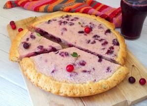 Пирог с вишней и йогуртом - фото шаг 12
