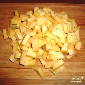 Салат с омлетом - фото шаг 2