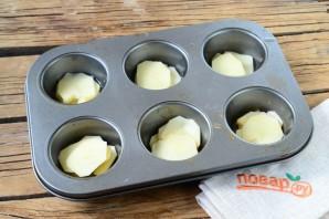 Гратен из картофеля в стиле маффинов - фото шаг 6