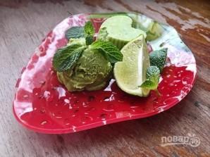 Мороженое из авокадо с лаймом - фото шаг 7