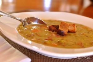 Простой гороховый суп с копченостями - фото шаг 6