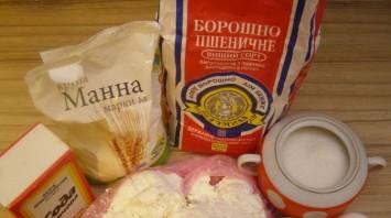 Сырники в духовке - фото шаг 1