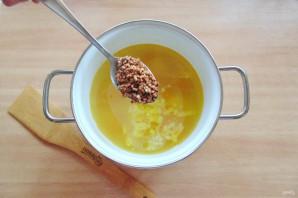 Гречневый суп с брокколи - фото шаг 6