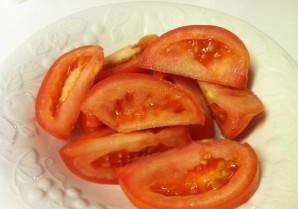 Жареные грибы с помидорами - фото шаг 3