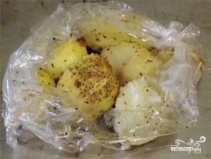 Картофель запеченный в пакете - фото шаг 2