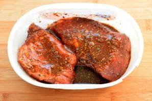 Запеченная свинина для бургеров - фото шаг 1