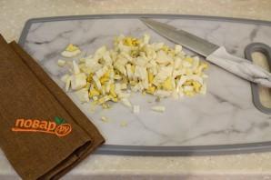 Салат Поросенок с копченой курицей - фото шаг 3