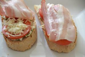 Бутерброды с копченым сыром - фото шаг 8