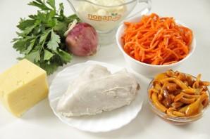 """Салат """"Карусель"""" с корейской морковью - фото шаг 1"""
