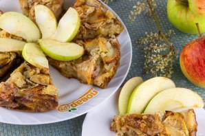 Яблочный пирог (мало теста, много яблок) - фото шаг 8