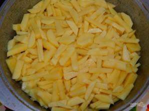 Овощное рагу с мясом в духовке - фото шаг 3
