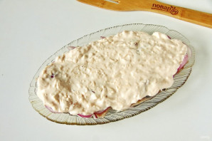 Сельдь в сырном соусе - фото шаг 6