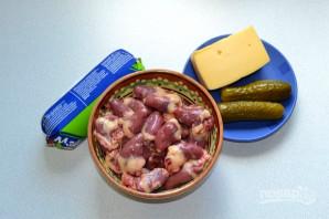 Салат с сердцем и сыром - фото шаг 1