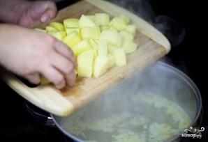Финский суп из лосося со сливками - фото шаг 4