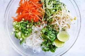 Вьетнамский салат с лапшой - фото шаг 4