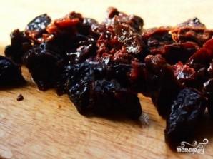 Филе индейки, тушенное с черносливом  - фото шаг 5