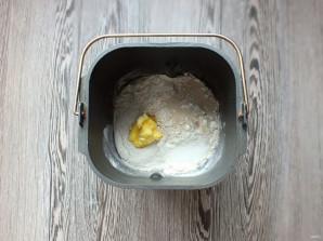 Хлеб с семечками в хлебопечке - фото шаг 2