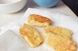 Жареный сыр (горячая закуска) - фото шаг 3