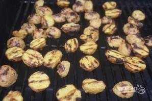 Картофель на гриле в маринаде - фото шаг 5