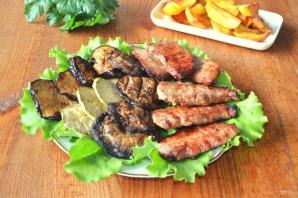 Мясо с овощами на гриле - фото шаг 9