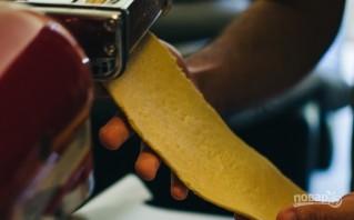 Самодельная паста с соусом из шалфея - фото шаг 8